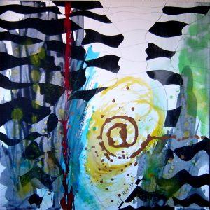 peinture, acrylique