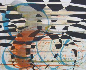 peinture, acrylique, pigments