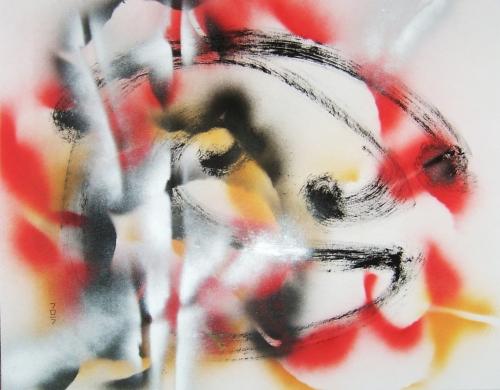 dessin, graphisme, encre, acrylique